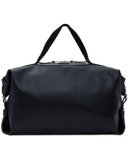 Black Large Leather Id Convertible Bag