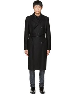 Black Db Military Coat