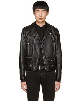 Black Leather Blood Luster L01 Jacket