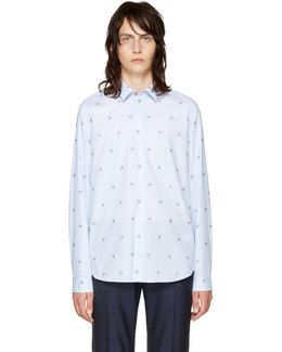 Blue Mini Astronaut Shirt