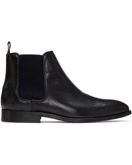 Black Falconer Chelsea Boots
