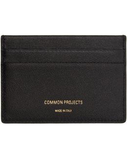 Black Multi Card Holder
