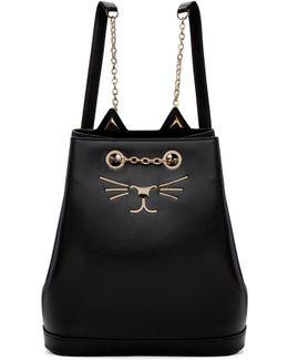 Black Feline Backpack