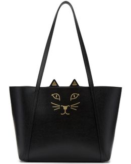 Black Mini Feline Tote