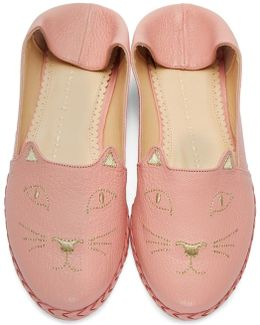 Pink Kitty Espadrilles