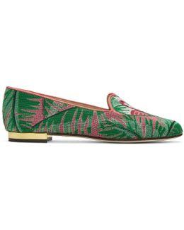 Multicolor Flamingo Slippers