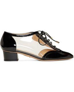 Black Patent Erroll Brogue Heels
