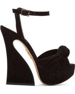 Black Platform Vreeland Sandals