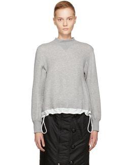 Grey Sponge Sweatshirt