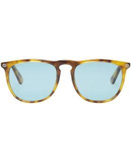Tortoiseshell Pantos Sunglasses