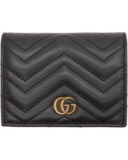 Black Small Gg Marmont Wallet