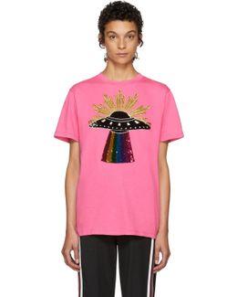 Pink Ufo T-shirt
