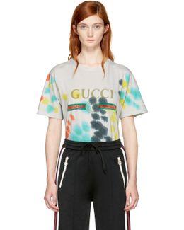 Multicolor Tie-dye Logo T-shirt