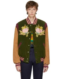 Modern Future Corduroy Varsity Jacket