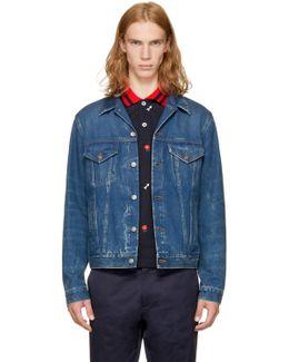 Blue 'blind For Love' Denim Jacket