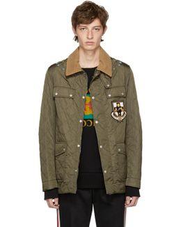 Green Ufo Parachute Jacket