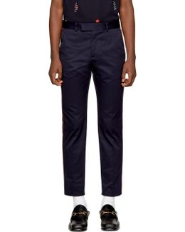 Navy Formal 60's Trousers