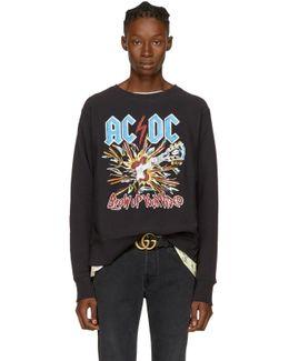 Black Ac/dc Logo Sweatshirt