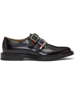 Black Beyond Monkstraps
