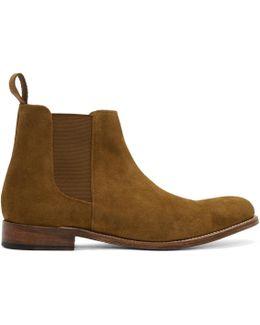 Tan Suede Declan Boots