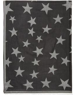 Black Stars Scarf
