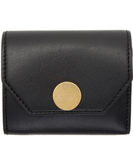 Black Flap Wallet