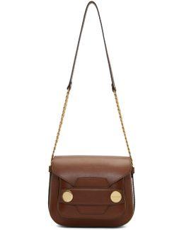 Brown Big 'stella Popper' Bag