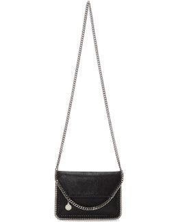 Black Mini Falabella Fold Over Bag