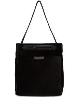 Black Velvet Small Falabella Go Hobo Bag
