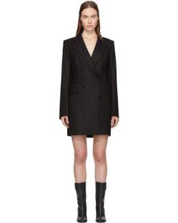 Black Carlie Blazer Dress