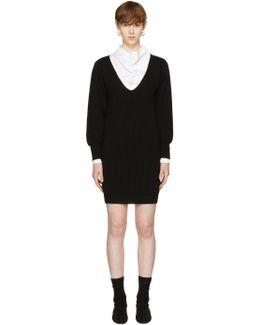 Black Puff Sleeve Dress