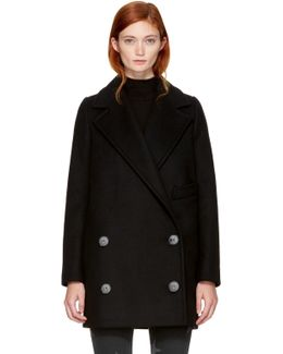 Black Edith Coat