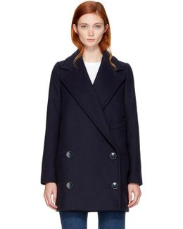 Navy Edith Coat