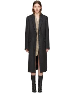 Grey Wool Harper Coat