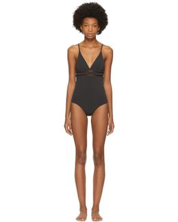Black Timeless Basics Swimsuit