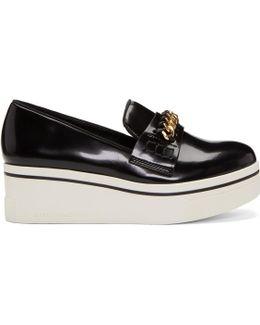 Black Binx Chain Platform Loafers