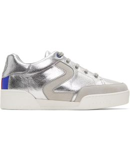 Silver 'stella' Sneakers