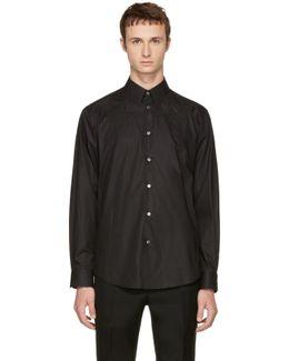 Black Tonal Swallow Shirt