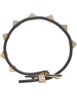 Beige Rockstud Bracelet