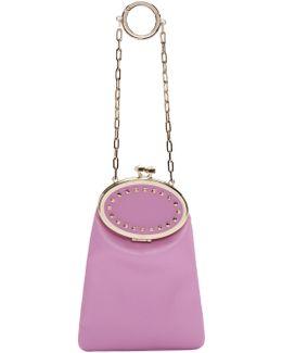 Pink Garavani Vanity Charm Clutch