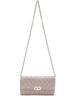 Pink Garavani Rockstud Spike Chain Bag