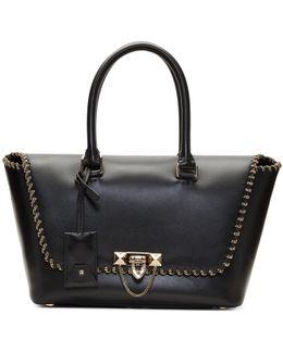 Black Garavani Small Demilune Bag