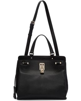 Black Garavani Medium Piper Bag