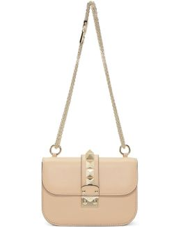 Rockstud Lock Shoulder Bag