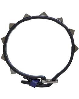 Blue Rockstud Bracelet