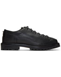 Black Boot Sole Derbys