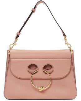 Pierce Medium Leather Shoulder Bag