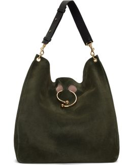 Green Hobo Pierce Bag