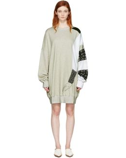 Ssense Exclusive Grey Kelly Beeman Edition Oversized Graphic Sweatshirt