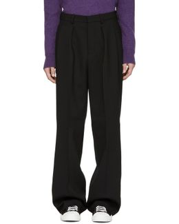 Black Large Trousers